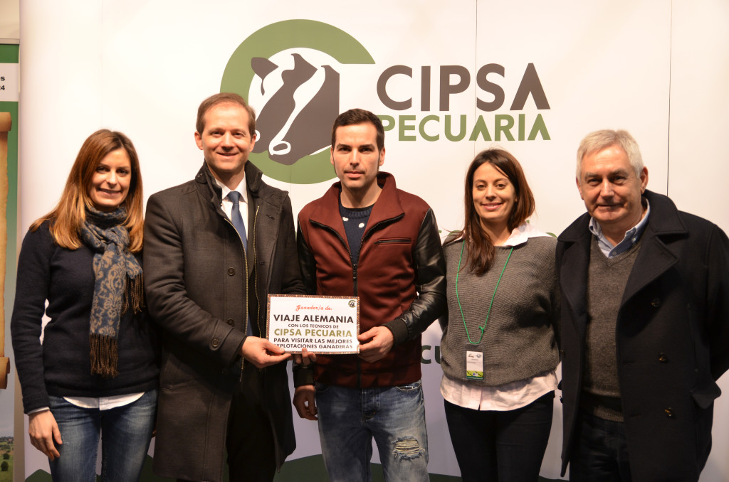 CIPSA PECUARIA raffles a trip to a country in Europe