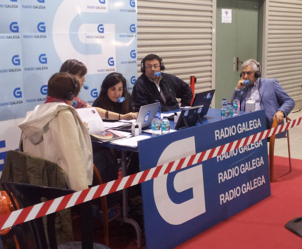 """Radio Gallega"": Interview in ""Semana Verde"" '13"